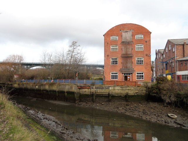 The old mill at Willington Quay