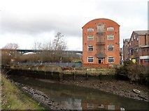 NZ3166 : The old mill at Willington Quay by Robert Graham
