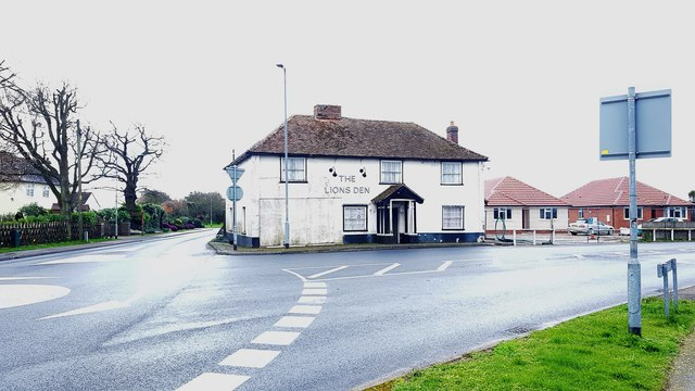 Great Holland: The former Lions Den public house