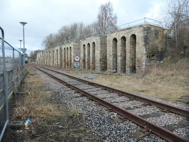 Coal drops, Shildon
