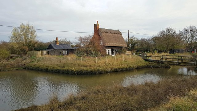 Kirby-le-Soken: Arthur Ransome's 'Witch's Cottage'