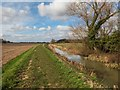 SK9474 : Bridleway by the Catchwater Drain, Burton-by-Lincoln by Oliver Mills