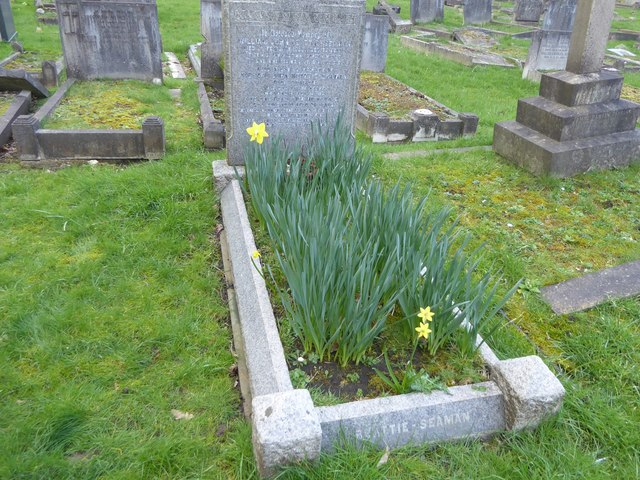 The grave of the racing driver Dick Seaman at Putney Vale Cemetery
