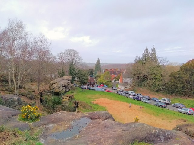 View overlooking Toad Rock