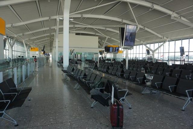 C Gates at T5 Heathrow Airport