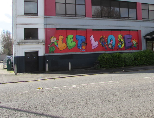 LET LOOSE on Victoria House, Corporation Road, Newport by Jaggery