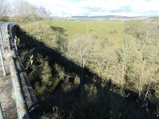 Balder Viaduct and its shadow