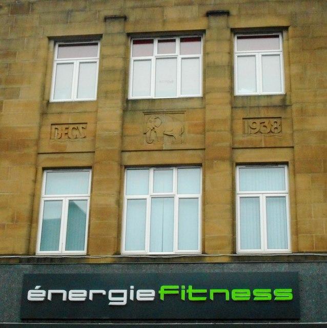 Building detail, énergie fitness