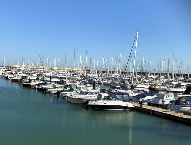 Brighton Marina - March 2020
