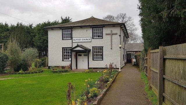 Thorpe-le-Soken: The Baptist Church