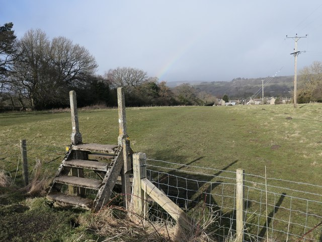 Public footpath from Lance Beck to Cotherstone