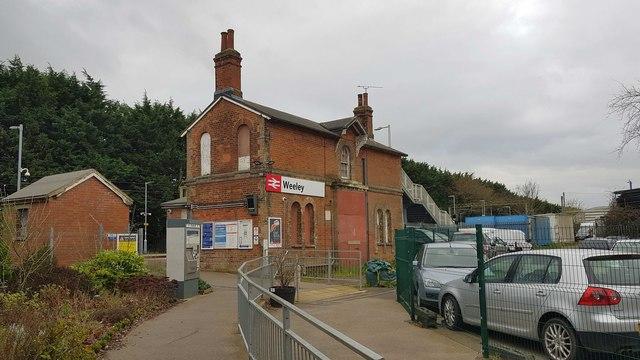 Weeley railway station (1)