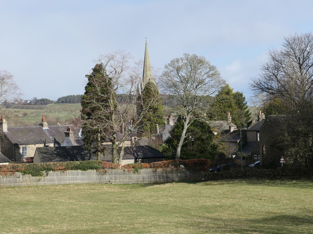 Houses near St Cuthbert's, Cotherstone