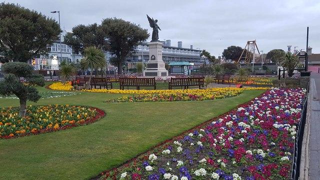Clacton-on-Sea: The Memorial Garden