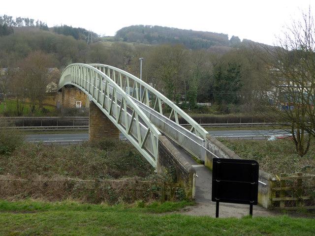 Footbridge over the A650