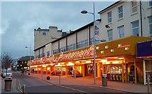 TM1714 : Clacton-on-Sea: Amusement arcade in Pier Avenue by Nigel Cox