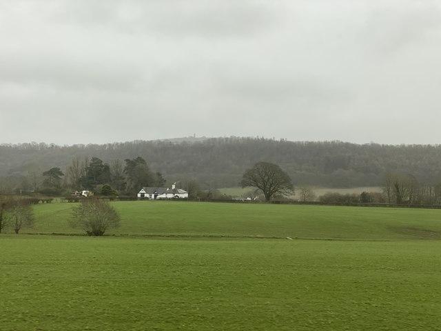 View towards Wenlock Edge