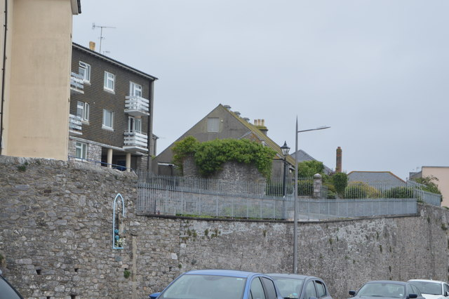Plymouth Castle (rems of)