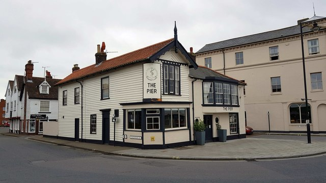 Harwich: The Pier, formerly The Angel public house