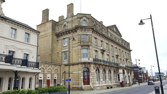 Harwich: Former Great Eastern Hotel & former Town Hall