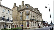 TM2532 : Harwich: Former Great Eastern Hotel & former Town Hall by Nigel Cox
