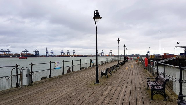 Harwich: The Ha'penny Pier
