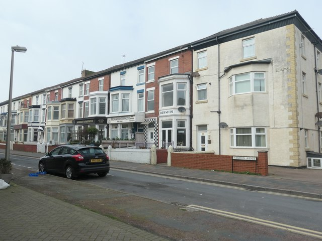 The north side of Barton Avenue, Blackpool