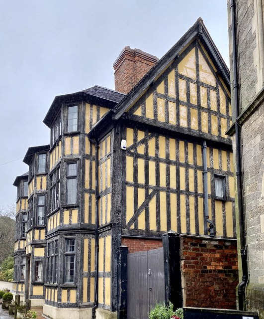 Timbered building