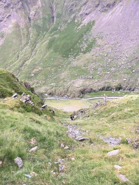 Sadgill to Gatescarth path