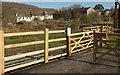 SX7881 : Gates on Wray Valley Trail by Derek Harper