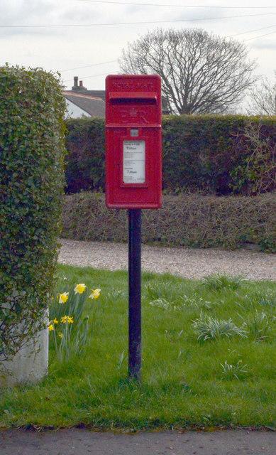 Post box, Watford Avenue, Norwood Green