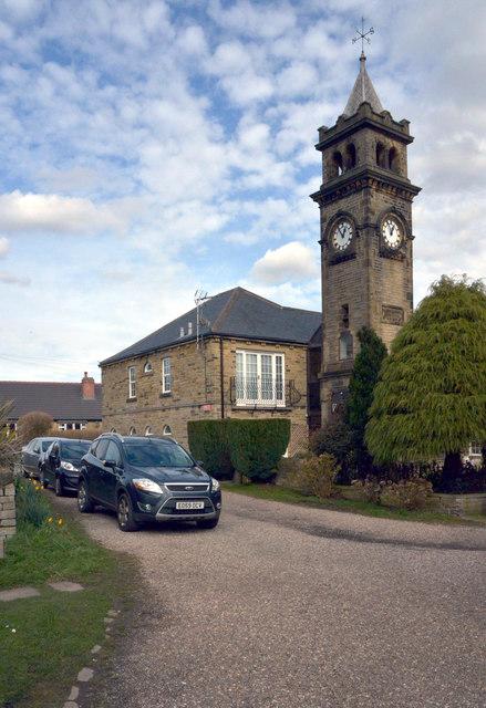 The Ellis Memorial Clock Tower, Norwood Green