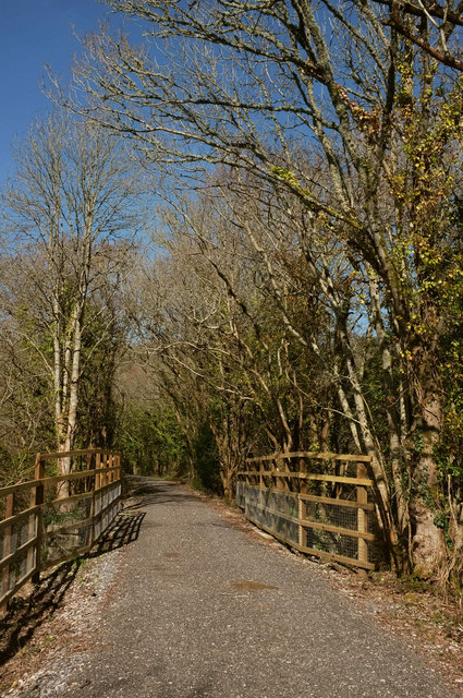 Wray Valley Trail north of Lustleigh