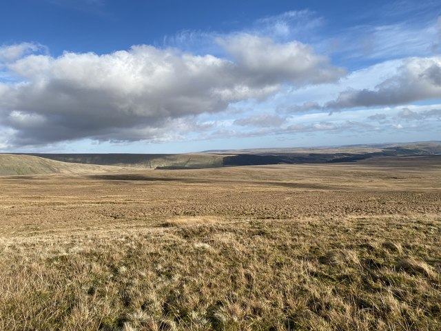 Moorland below Fan Fawr