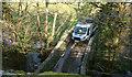 SX7882 : Lane at Caseley Bridge by Derek Harper