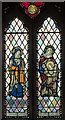 TF0544 : Stained glass window, St Botolph's church, Quarrington by Julian P Guffogg