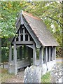 TQ8423 : Lych Gate for All Saints Church in Beckley, East Sussex by John P Reeves
