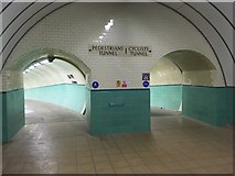 NZ3266 : Tyne Cyclist and Pedestrian Tunnel: Northern Portal by Anthony Foster