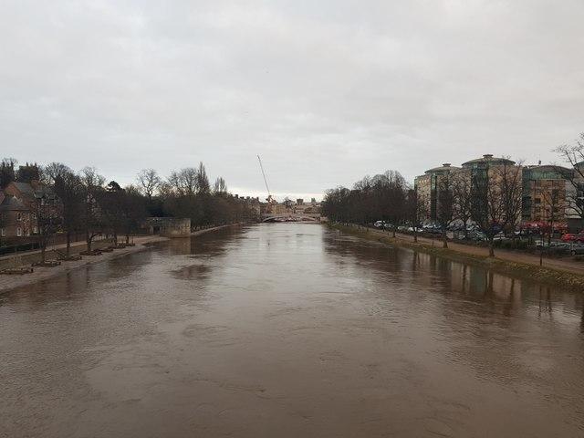 River from Scarborough Bridge
