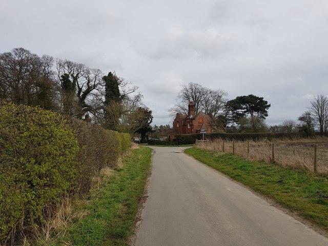 Towards Bossall Lodge
