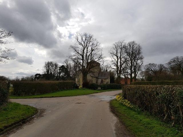 Crossroads in Bossall