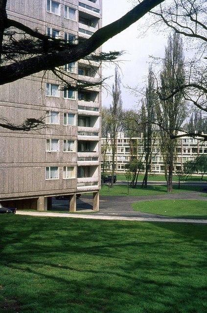 Alton West Estate, Roehampton, 1966 – 7