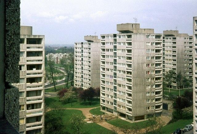 Alton West Estate, Roehampton, 1966 – 9