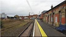 TM2532 : Harwich Town railway station by Nigel Cox