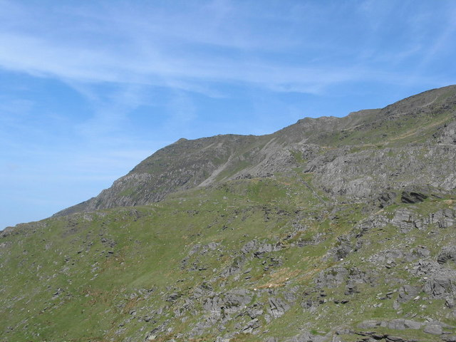 The summit of the Cnicht from the Jacob's Ladder Path