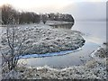NM8804 : Frosty morning on Loch Awe by Patrick Mackie