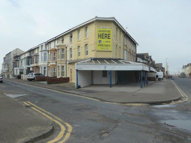 Junction of Trafalgar Road and Lytham Road, Blackpool