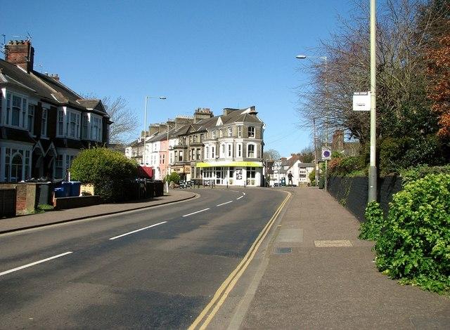 Bus stop in Thorpe Road