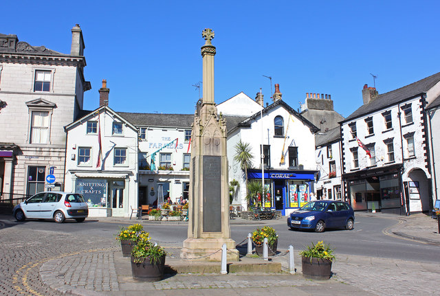 Ulverston War Memorial - click for image details and credits