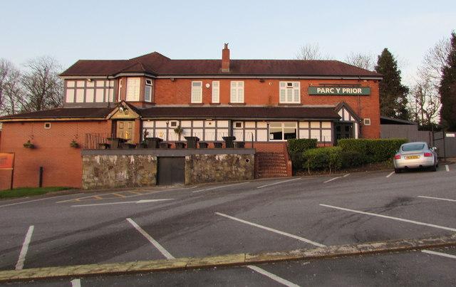 Parc y Prior pub closed until further notice, Malpas, Newport
